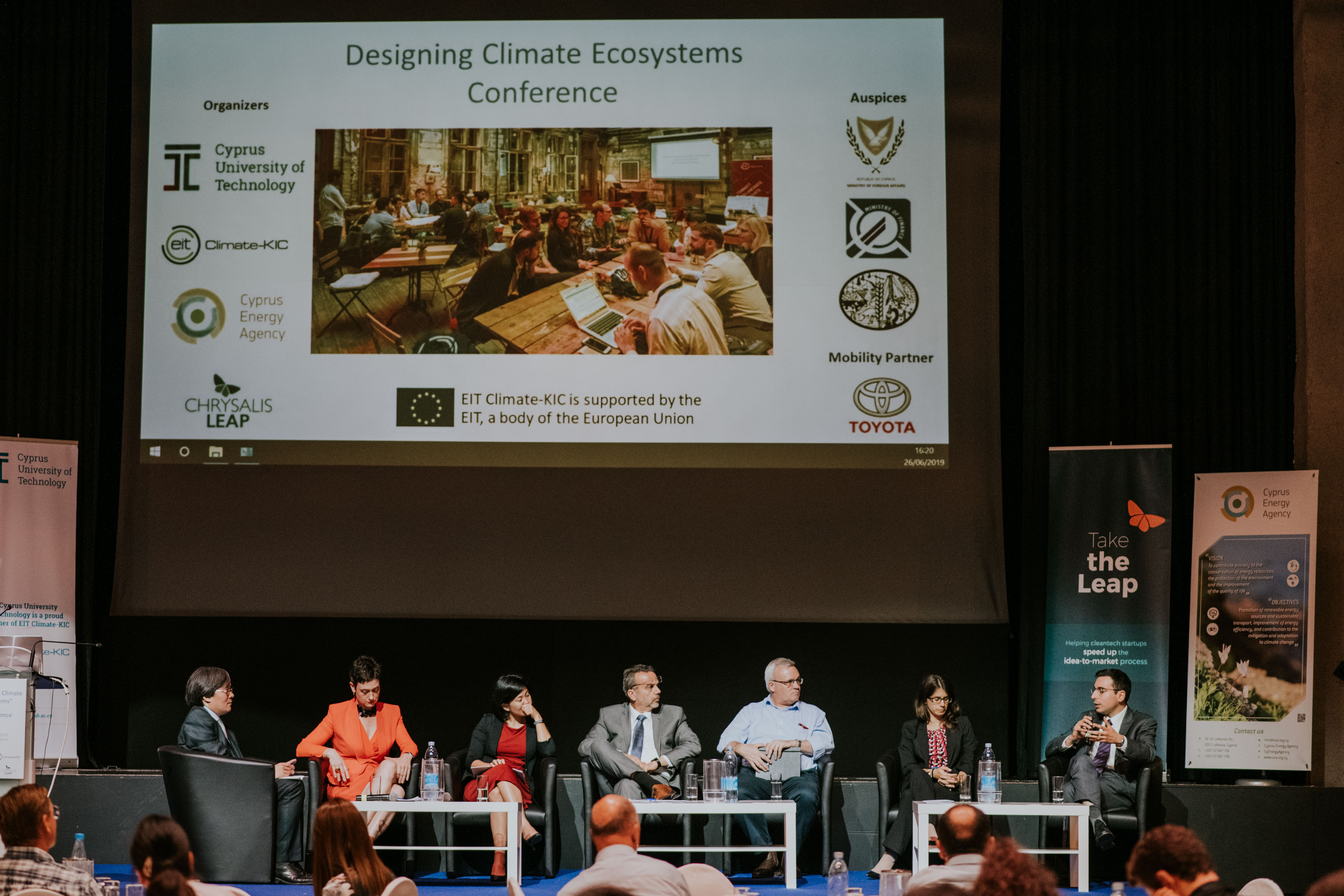 Designing Climate Ecosystems Conference & EIT Awareness Day