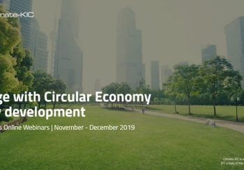 Engage with Circular Economy in City Development by Circular Cities (suported by EIT Climate-KIC)